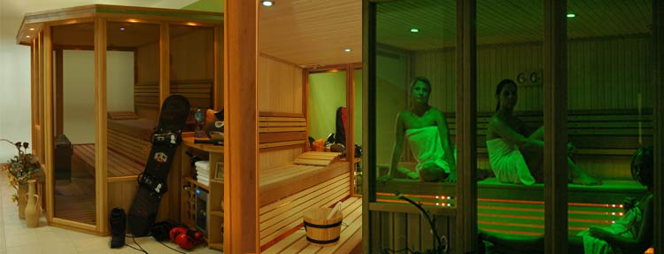 Exclusive saunas - KLAUDIA